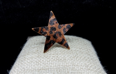 STAR LEOPARD RING