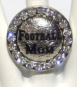FOOTBALL MOM RING