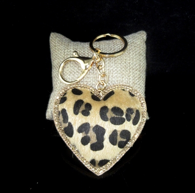 FKR204 ANIMAL PRINT KEY CHAIN