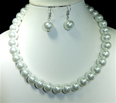 FNE6204 PEARL NECKLACE SET