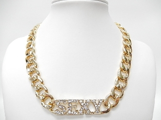 HN4019 'SEXY' CHAIN NECKLACE
