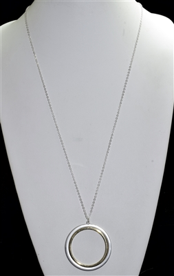 HN420 OPEN CIRCLE CHAIN NECKLACE