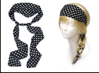 IH0161 DOT WRAP HEADBAND
