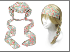 IH0163 ROSE WRAP HEADBAND