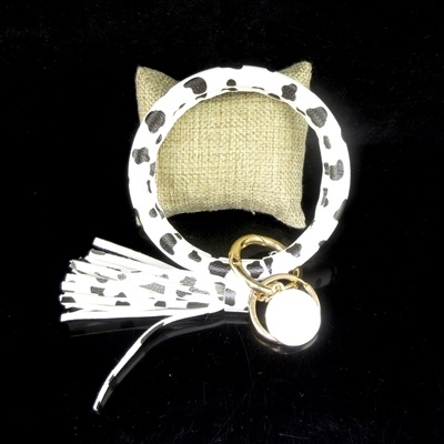 KR78920 ANIMAL PATTERN KEY RING