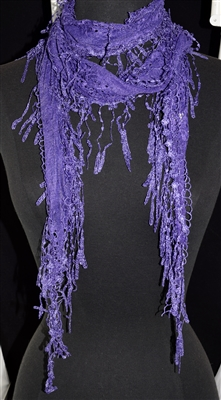 LS-013 PURPLE SCARF