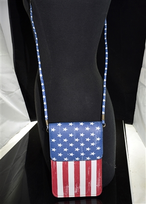 MB0059 AMERICAN FLAG CROSSBODY BAG