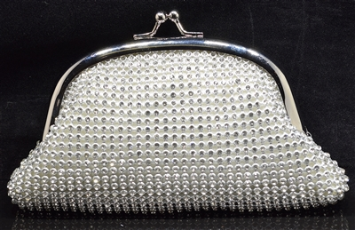 ME0003 SMALL RHINESTONE EVENING BAG