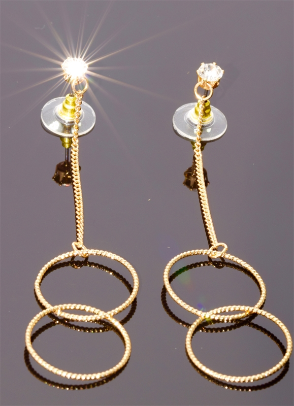 MFE5041GCL mia EARRING/GOLD-CRYSTAL