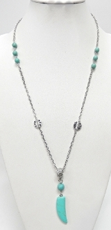 NK-41 Beads/Stones Necklace