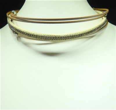 NK4001 ANTIQUE MAGNETIC CHOKER