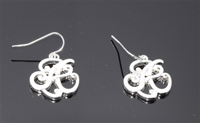OE1536S A MONOGRAM EARRINGS