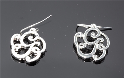OE1541S G MONOGRAM EARRINGS