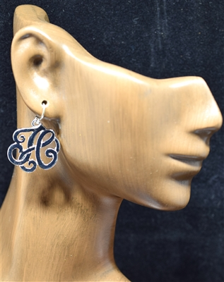 OE1542S H MONOGRAM EARRINGS