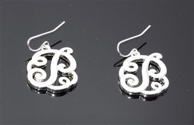 OE1548S P MONOGRAM EARRINGS