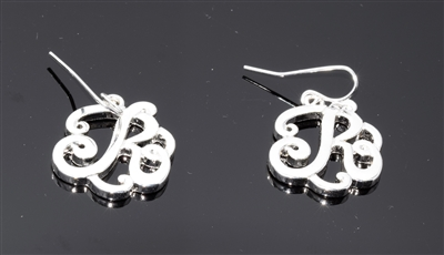 OE1549S R MONOGRAM EARRINGS