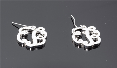 OE1551S T MONOGRAM EARRINGS