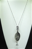 ON17777 ANTIQUE INSPIRATIONAL SPOON NECKLACE