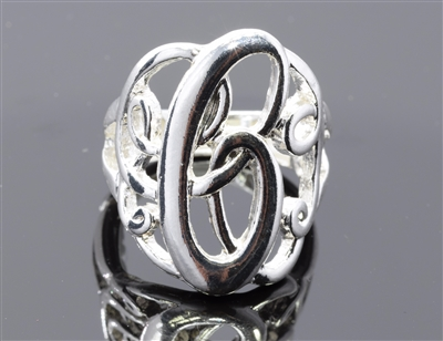 OR0609S C MONOGRAM RING
