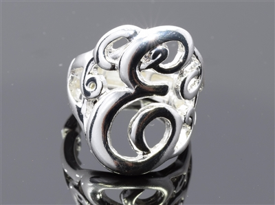 OR0611S E MONOGRAM RING
