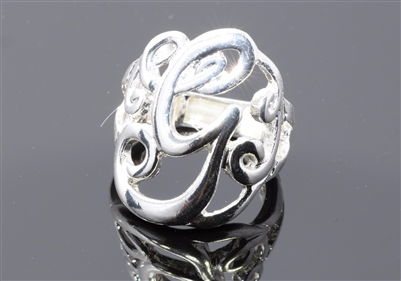 OR0612S G MONOGRAM RING