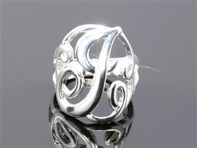 OR0614S J MONOGRAM RING