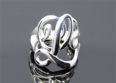 OR0616S L MONOGRAM RING