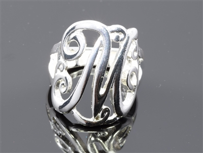 OR0617S M MONOGRAM RING
