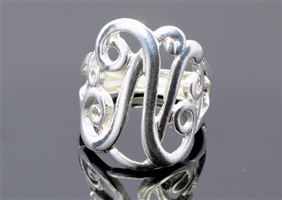 OR0618S N MONOGRAM RING