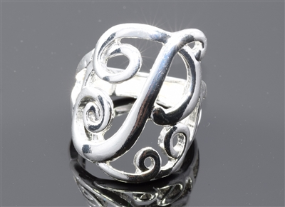 OR0619S P MONOGRAM RING