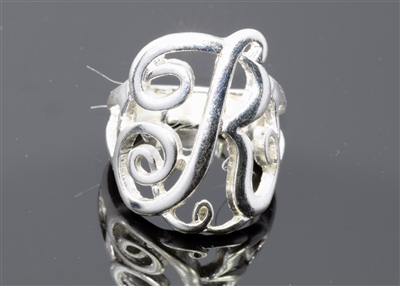 OR0620S R MONOGRAM RING