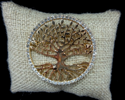 TREE OF LIFE BROOCHES