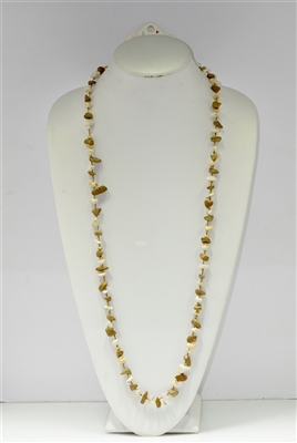 PNE9744 Knit small stone necklace set