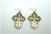 QE-2371GBCL BS CROSS 6CM EAR TQ