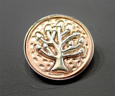 SBC-0012 TREE OF LIFE SNAP BUTTON