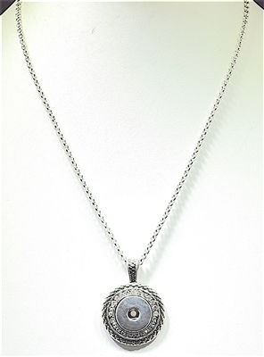 SN001 SNAP BUTTON NECKLACE