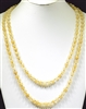 "SN608NA 60"" 8MM NATURAL SEMI PRECIOUS STONE NECKLACE"