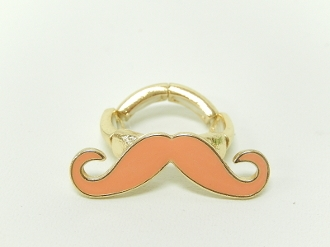 SR20559 MUSTACHE STRETCH RING