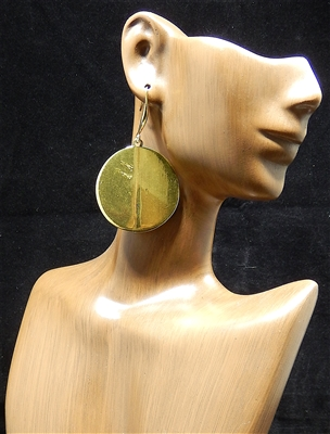 TE0002 ANTIQUE CIRCLE EARRINGS