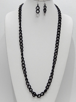 WNE6205 CHAIN NECKLACE SET