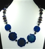 XL-160 ACRYLIC BEAD NECKLACE