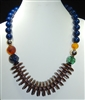 XN-1116 LONG BEADED ACRYLIC NECKLACE