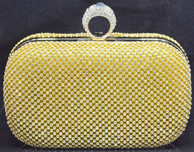 YB44 RHINESTONE EVENING BAG
