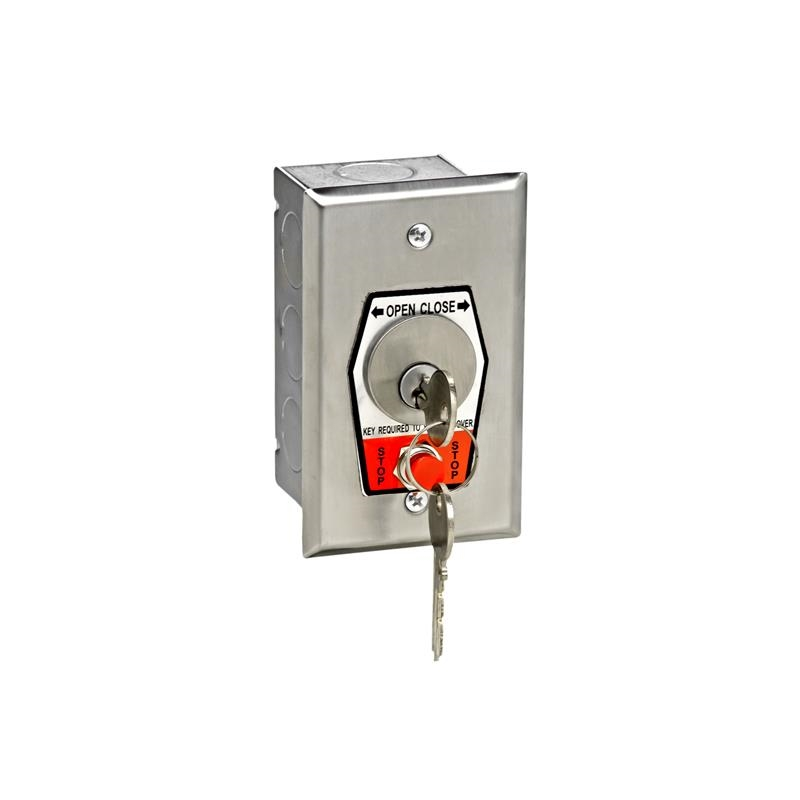 Nema 1 Interior Open-Close Key Switch With Stop Button In Single ...