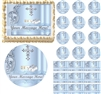 Boy Baptism Christening Communion Religious Cross Edible Cake Topper Image Frosting Sheet Many Sizes!