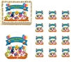 Baby Shark Family Birthday Banner Edible Cake Topper Decoration Cupcakes Baby Shark Cake Sharks