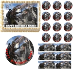 CALL OF DUTY Advanced Warfare Bridge Edible Cake Topper Image Frosting Sheet-All Sizes!