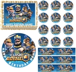 Clash Royale Edible Cake Topper Image Cupcakes Cake Decoration Clash of Clans