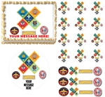 CUB SCOUTS RANKS Edible Cake Topper Image Frosting Sheet Cake Boy Scouts Cake