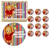 Daniel Tiger's Neighborhood Stripes Edible Cake Topper Frosting Sheet - All Sizes!